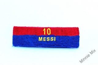 Froté čelenka Messi 10- OUTLET